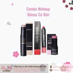 bộ makeup cơ bản skinaz