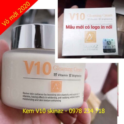 kem v10 skinaz mẫu mới