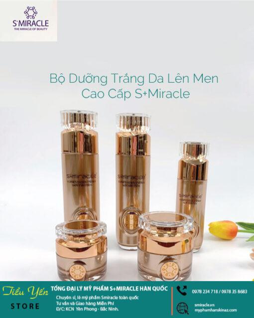 bộ dưỡng da cao cấp smiracle