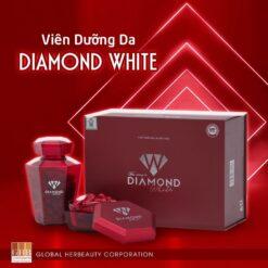 viên uống dưỡng trắng da diamond white ngọc trinh