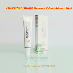 kem dưỡng trắng Melasma X Glutathione