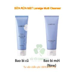 sữa rửa mặt Laneige Multi Cleanser
