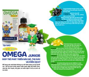 Fitobimbi omega Junior - Bổ sung DHA cho con thông minh, sáng mắt