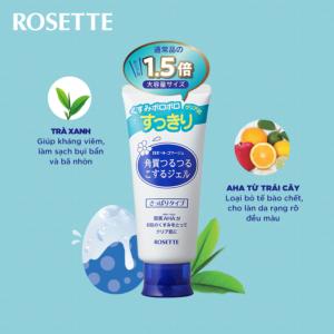 tẩy da chết rosette xanh